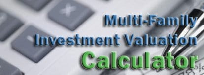 Multi Family Investment Calculator